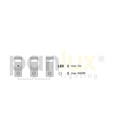 VANA venkovní reflektorové svítidlo 150W | černá