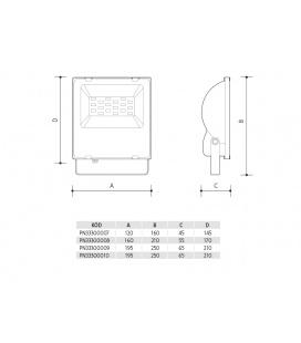 ORAVA LED 158 prachotěsné průmyslové svítidlo | 30W