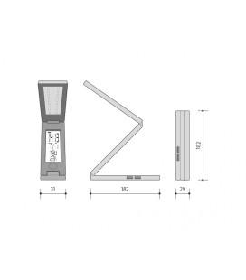 ALU PROFIL 20mm přisazený | délka 2m