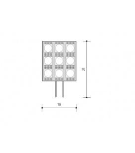 METAL HALOGEN světelný zdroj výbojka 230V RX7s | 150W