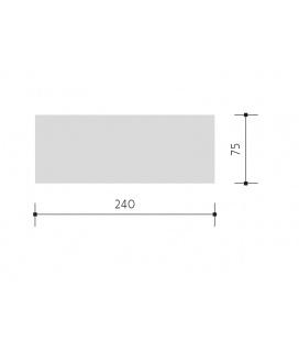 LIŠTA pro lištový systém 100 cm