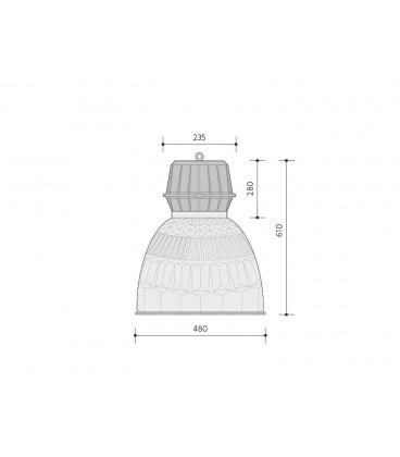 LEDMED LED VANA 20W s držákem - neutrální | 20W