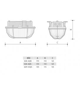 LED ŽÁROVKA světelný zdroj 230V 10W - studená bílá