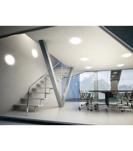 GENTLEMAN MAT LED přisazené stropní a nástěnné svítidlo | bes senzoru, mat,  LED - teplá bílá