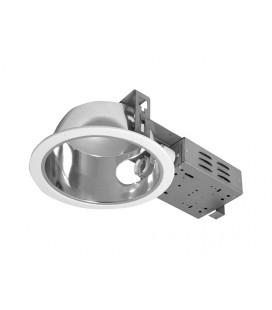 DAISY multifunkční stolní lampička s displejem | bílo- růžová