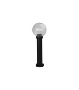 PARK 1 zahradní svítidlo | černá - prizm. kouřová (20cm)