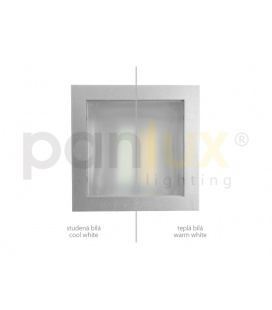 PARK 2 zahradní svítidlo | černá - prizm. kouřová (20cm)