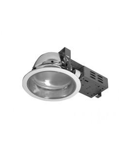DOWNLIGHT DWM VVG 1x18W zářivkové podhledové svítidlo   1x18W, stříbrná