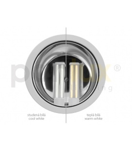 ORAVA prachotěsné průmyslové svítidlo EVG | 2x18W