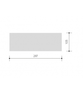 ORAVA prachotěsné průmyslové svítidlo EVG | 2x36W
