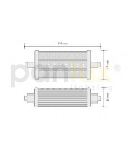 PLAFONIERA 305 S LED přisazené stropní a nástěnné svítidlo | se senzorem, LED - teplá bílá