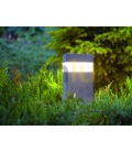 PANLUX GARD LED 36 zahradní svítidlo - studená bílá  verze se senzorem, výška 36cm