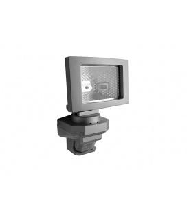 PANLUX VANA S venkovní reflektorové svítidlo se senzoremem a LED přisvícením - teplá bílá  stříbrná