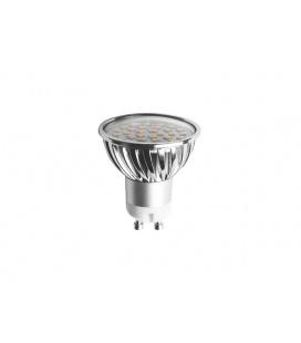 SMD C 30LED světelný zdroj 230V 4W GU10  teplá bílá