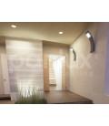 PANLUX FIERA N nástěnné zahradní LED svítidlo  studená bílá