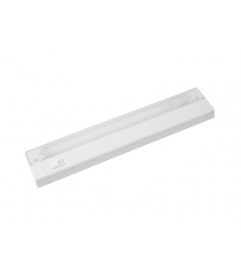 AIGLOS PLAST zářivkové nábytkové svítidlo s vypínačem pod kuchyňskou linku  13W, plast, bílá