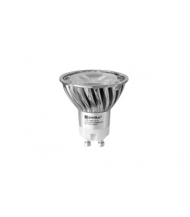 HIGH POWER 3LED světelný zdroj  230V 3,6W GU10 - studená bílá