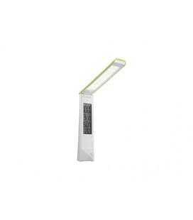 PANLUX DAISY multifunkční stolní lampička s displejem  bílo-zelená