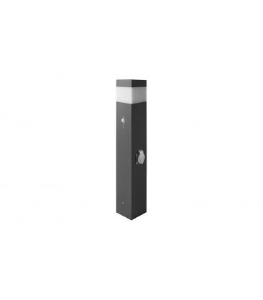 PANLUX GARD 76 zahradní svítidlo  verze se zásuvkou a senzorem, výška 76cm