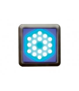 DEKORA 3 dekorativní LED svítidlo  nerez - modrá
