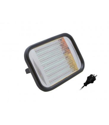 FORTUNA 127 LED montážní svítidlo  žlutá, se zásuvkou a vypínačem