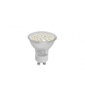 LEDMED SMD 48 LED světelný zdroj 230V 2,5W  GU10 - studená bílá