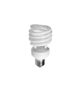 SPIRÁLA světelný zdroj 230V E27  20W - teplá bílá