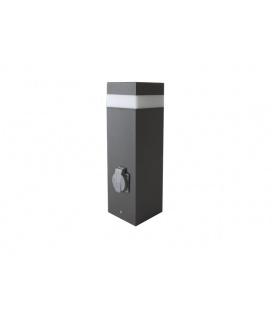 PANLUX GARD LED 36 zahradní svítidlo - studená bílá  verze se zásuvkou, výška 36cm