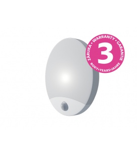 OLGA S LED  přisazené stropní a nástěnné kruhové svítidlo se senzorem 10W, bílá
