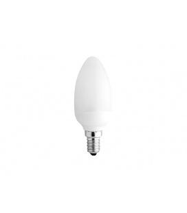SVÍČKA světelný zdroj 230V E14 - teplá bílá  7W