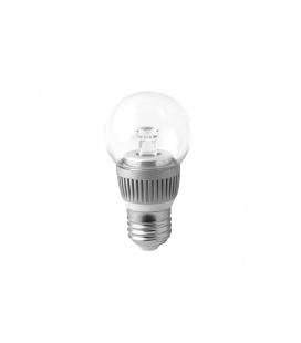 BALL LED světelný zdroj 230V 3,5W  E27, studená bílá
