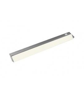 VERSA LED výklopné nábytkové svítidlo s vypínačem pod kuchyňskou linku  10W, stříbrná - teplá