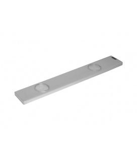 DAERON nábytkové svítidlo  2x24LED - teplá bílá