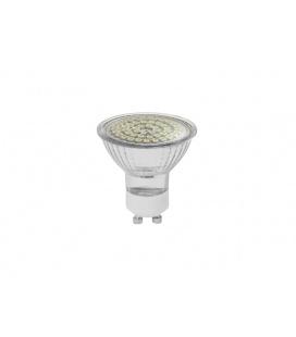SMD 48LED světelný zdroj 230V 3,5W  GU10 - teplá bílá
