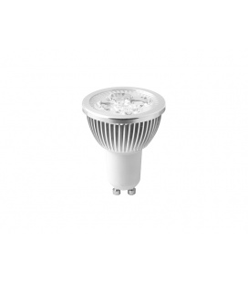 HIGH POWER 4LED světelný zdroj  230V 4W GU10 - studená bílá