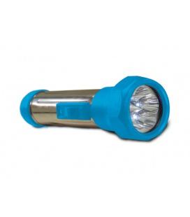 BATERKA svítilna  5LED, modrá