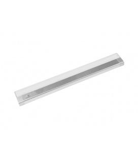 """PANLUX AIGLOS LED kuchyňské svítidlo s vypínačem """"podlinka""""  10W, stříbrná - studená bílá"""