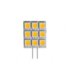 KAPSULE 120 světelný zdroj 9LED 12V 2W G4  studená bílá