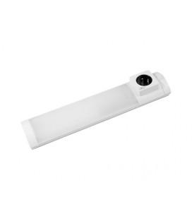 ARKA Z zářivkové nábytkové svítidlo 11W  bílá, se zásuvkou