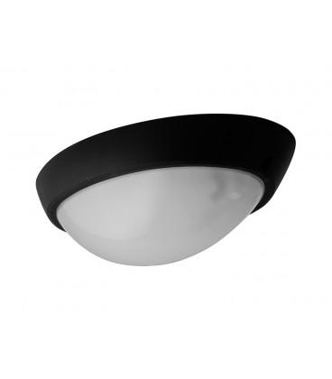 ELIPTIC venkovní přisazené stropní a nástěnné svítidlo  černá