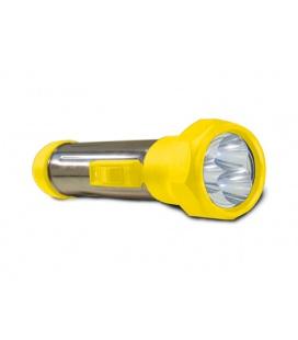 BATERKA svítilna  3LED, žlutá
