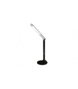 TESSA designová multifunkční stolní LED lampa s displejem  černá