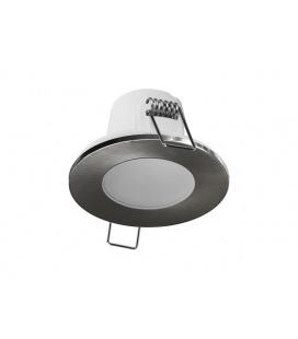 PANLUX SPOTLIGHT IP65 podhled  bodovka, chrom broušený - teplá bílá
