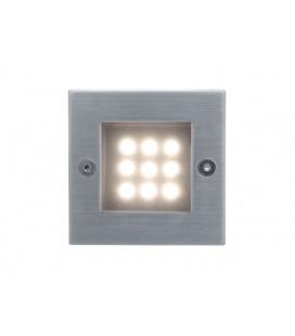 INDEX 9 LED venkovní vestavné svítidlo  teplá bílá