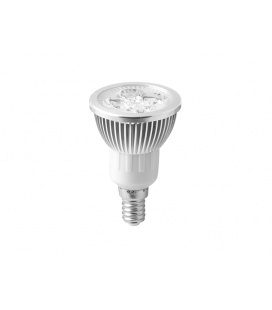 HIGH POWER 4LED světelný zdroj  230V 4W E14 - teplá bílá