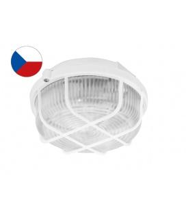 KRUH MAT přisazené stropní a nástěnné kruhové svítidlo 100W  bílá, mat