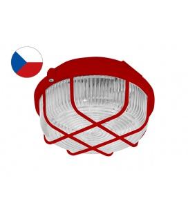 Přisazené kruhové svítidlo KRUH 100W červený @