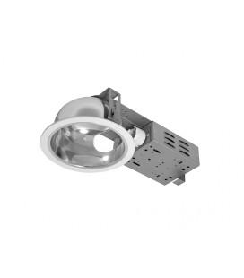 DOWNLIGHT DWM VVG 2x18W zářivkové podhledové svítidlo  2x18W, stříbrná