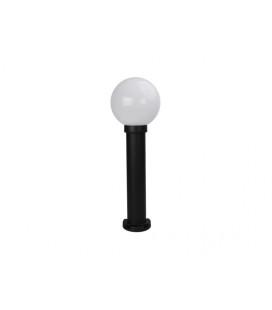 PANLUX PARK 1 zahradní svítidlo  černá - mléčná (60cm)