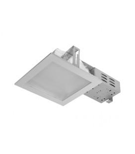 DOWNLIGHT DWH VVG 2x18W zářivkové podhledové svítidlo  2x18W, stříbrná